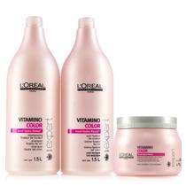 Loreal Vitamino Color Kit Profissional 3 Produtos (rosa)