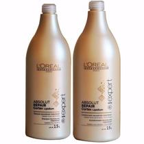 Kit Loreal Absolut Repair Shampoo 1,5l + Condicionador 1,5l