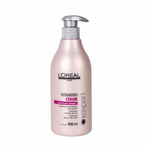 Kit Loreal Vitamino Color Shampoo 500ml E Máscara 500g