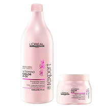 Loréal Vitamino Color Shampoo 1,5l + Máscara 500g