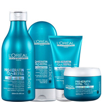 Loréal Professionnel Pro-keratin Refill (4prod)+brinde