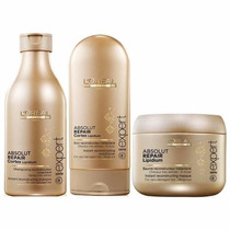 Loreal Absolut Repair Cortex Lipidium - Kit 3 Produtos