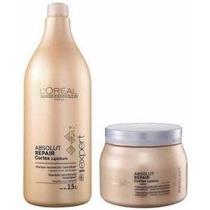 Absolut Repair Mascara E Shampoo - Loreal Profissional.