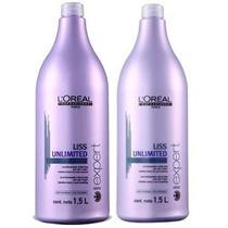 Loréal Liss Unlimited Shampoo 1500ml E Condicionador 1500ml