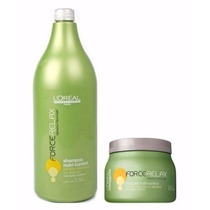 Loréal Force Relax Shampoo 1,5l & Máscara 500g Nutri-control