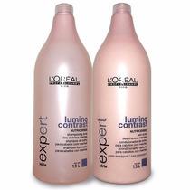 Loréal Lumino Contrast Kit Shampoo 1,5l + Condicionador 1,5l