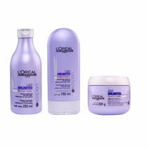 Kit Liss Unlimited Shampoo,condicionador E Máscara Pequenos