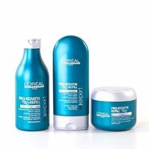 Kit Loréal Pro Keratin (shampoo, Mascara E Condicionador)