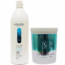 Lowell Color Quimica Kit Descolorante Rápido + Emulsão 30 V