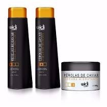 Kit Manutenção Perolas De Caviar Widi Care 250 Ml