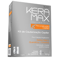 Kit Keramax Profissional Cauterização 4 Produtos 1 Preço