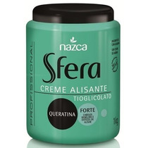 Creme Alisante Sfera Profissional Pote 1 Kg - Mega Promoção