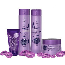 Kit Haskell Ametista Shampoo + Condic. + Máscara + Leave-in