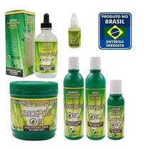 Super Kit Crecepelo Completo 6 Itens C/gotero+bolsa Gratis