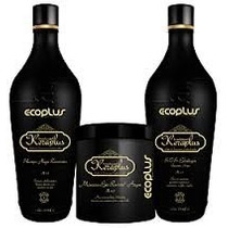 Ecoplus Kit Tratamento Keraplus Keratina Restaurador
