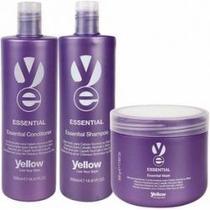 Kit Yellow Essential Shampoo + Condicionado + Mascara