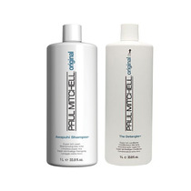 Kit Paul Mitchell Original Shampoo+ The Detangler 1000ml Amk