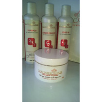Kit Manutenção Pós Química+másc De Hidratação Magnific Hair