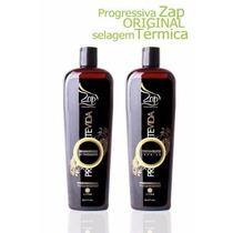 Zap Protevida Original Escova Selagem Termica Kit Tratament