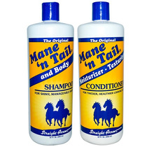 Shampoo E Condicionador (cavalo) Mane & Tail Kit Grande