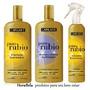 Kit Clareador Capilatis: Shampoo Condicionador & Spray Loiro