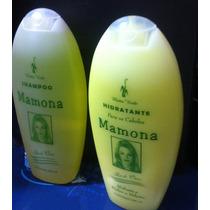 Kit Shampoo De Mamona O Melhor Para Crescimento De Cabelos