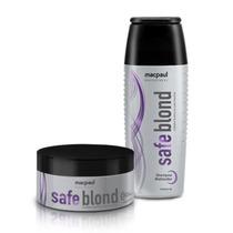 Safe Blond Matizador - Macpaul - Shampo + Máscara