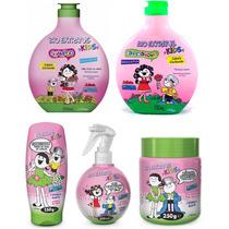 Kit Bioextratus Kids Cabelos Cacheados 05 Produtos