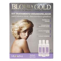 Kit Desamarelador (matizador) Blond Gold Vita Seiva