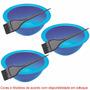 Kit Pote + Pincel Para Tratamentos Capilares - 03 Unidades