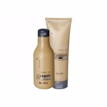 X Repair Hobety Shampoo 300ml E Emulsão Hidratante 240g