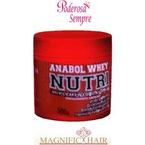 Máscara Anabol Whey Nutri 500g ,magnific Hair