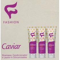 Kit Caviar Shampoo, Condicionador E Leave-in