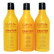 Luna Cauter 500ml Cauterização Capilar Para Profissionais