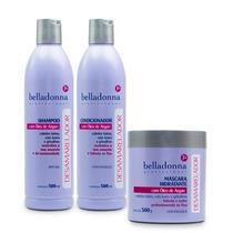 Belladonna Kit Desamarelador Shampoo+condicionador+máscara