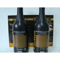Kit 2 Super Liss Blak Prime Mas Cavihair 0% Formol