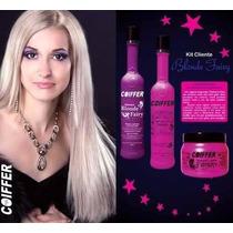 Kit Cliente Blonde Fairy Desamarelador De Cabelos Coiffer