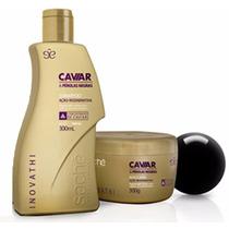 Kit Inovathi Caviar & Pérolas Negras - Sachê - 2 Produtos