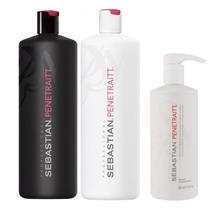 Sebastian Penetraitt Kit -shampoo 1l +cond 1l +mascara 500ml