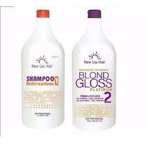 Escova Blond Gloss Platinum 0% De Formol New Lis Hair