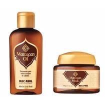 Mascara E Oleo Marrocan De Argan Macpaul # Compre Agora