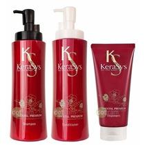 Kerasys Kit Oriental Premium Shampoo+condicionador+máscara