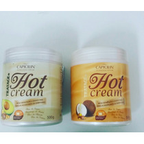 Kit Hidratante Hot Cream Óleo De Coco E Abacate