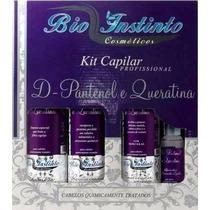 Kit Capilar D.pantenol E Queratina - Bio Instinto