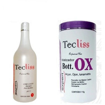 Bo-tox Capilar Em Massa Matizador Tecliss 1 Kg + Shampoo