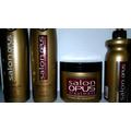 Kit Shampoo Condic Máscara Creme Salon Opus Recuperação Fio