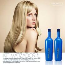Kit Silver Probelle Fim Do Amarelo! Shampoo, Condiciondor 1l