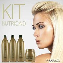 Kit Nutrição Reconstrutor Probelle 4 Produtos Divinos!!!
