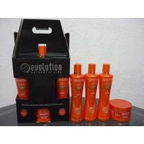 Kit De Manutenção Banho De Verniz Evolution Hair