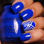 Esmalte Sinful Colors Azul Royal Endless Blue 1052 No Basil!